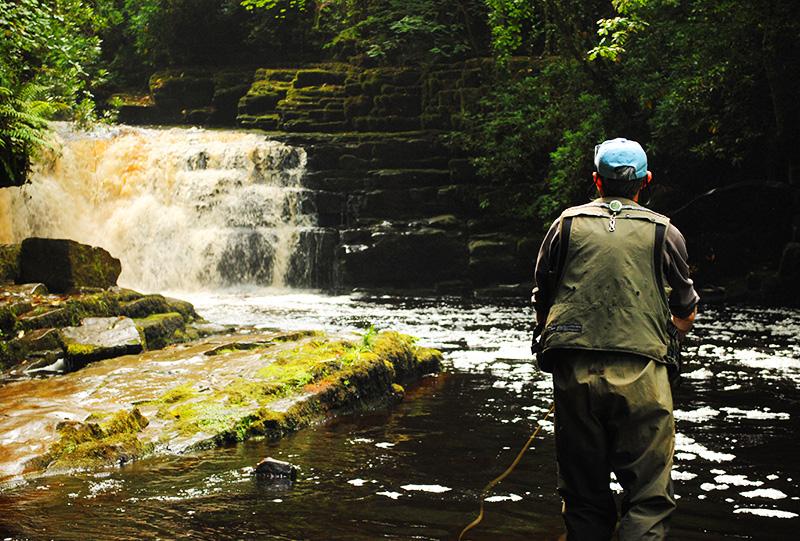 Fishing Waterfall 2